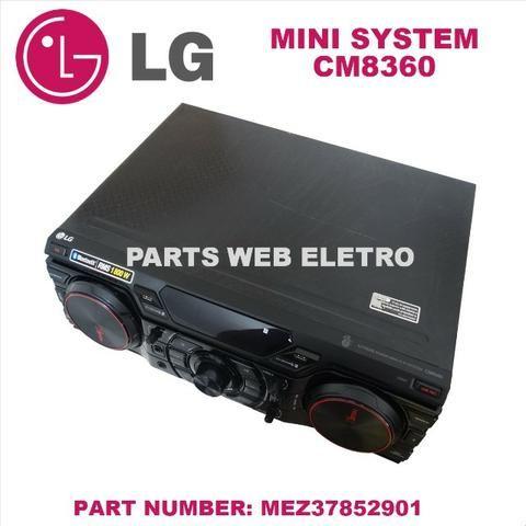 Mini System Lg Cm8360 C/ Controle S/ Caixas Acústicas - Foto 3