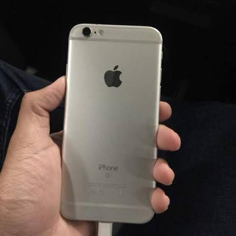 IPhone 6s 64gb com caixa e nota paguei 1500 nele novo sou único dono ! - Foto 4