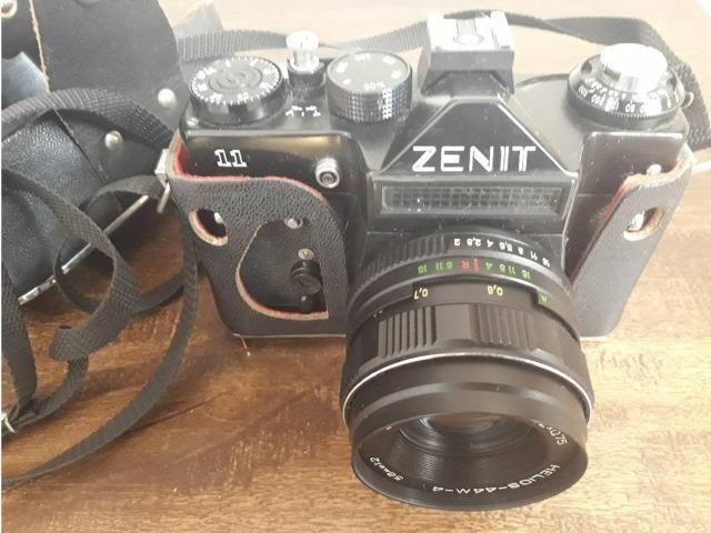 Câmera Fotográfica Zenit 11 (Raridade, ano 1964) - Foto 6