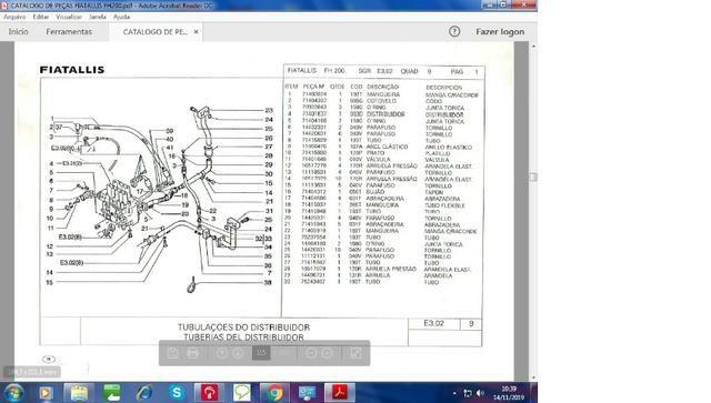 Catálogo peças, manual, Ad7b, Uniport, FG85, FR12, FB80, 70ci, FH200, 4CT - Foto 11