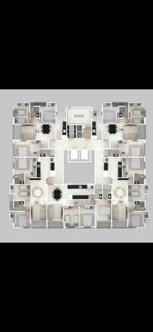 Apartamento em construção nos bancários de 1 e 2 e 3 quartos - Foto 2