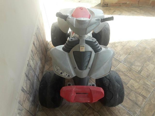 Quadriciclo infantil 12v bandeirante - Foto 2