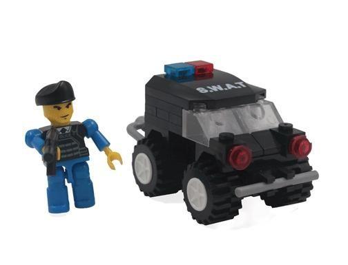 Brinquedo lego s.w.a.t 61 peças