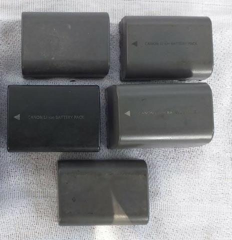 Bateria recarregável de Íons de Lítio. Bateria Canon Pack