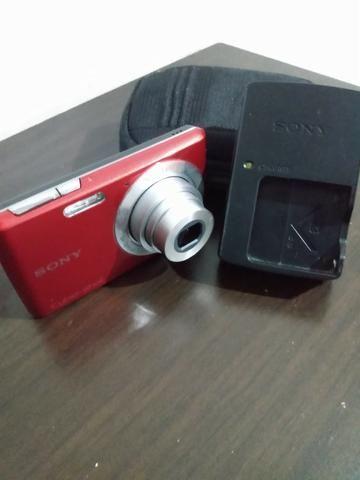 Câmera Digital Sony, Cyber-Shot, 14,1 M.P. Vermelha