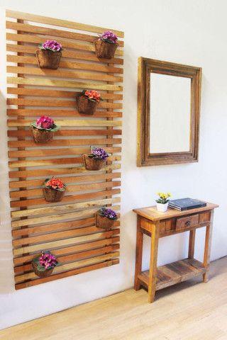 Fabricante de móveis em madeira de demolição e paletes - Foto 5