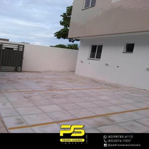 Apartamento com 2 dormitórios à venda, 60 m² por R$ 110.000 - Paratibe - João Pessoa/PB - Foto 2