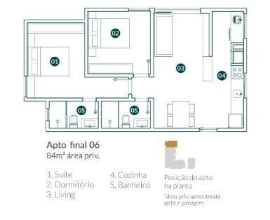 Apartamento para Venda em Balneário Camboriú, vila real, 2 dormitórios, 1 suíte, 2 banheir - Foto 10