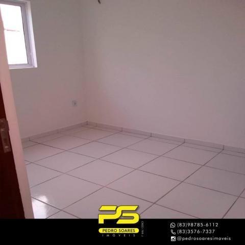 Apartamento com 2 dormitórios à venda, 60 m² por R$ 110.000 - Paratibe - João Pessoa/PB - Foto 3