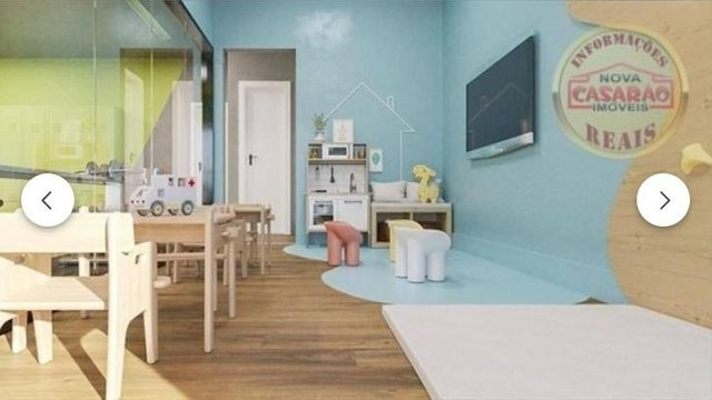 Apartamento com 2 dormitórios à venda, 70 m² por R$ 350.000 - Mirim - Praia Grande/SP - Foto 6
