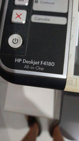 Impressora HP Deskjet F4180 (com defeito, é para retirada de pecas ou conserto) - Foto 4