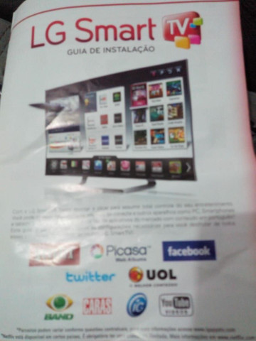 Tv LG smart 42 Leia o anuncio whats * - Foto 4