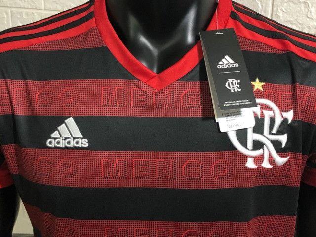 Camisa CR Flamengo 1 19/20 Torcedor - Foto 2