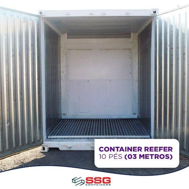 Locação Mensal Container Frigorífico 40, 20 e 10 pés tipo Câmara Fria usado aço inox - Foto 5