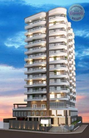 Apartamento com 1 dormitório à venda, 46 m² por R$ 232.000 - Vila Caiçara - Praia Grande - Foto 13