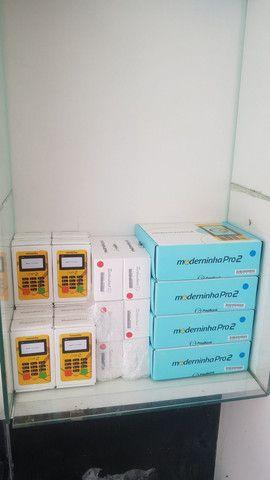 Diversas máquinas de cartão