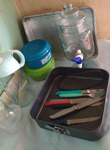Utensílios domésticos diversos tudo por cem - Foto 3