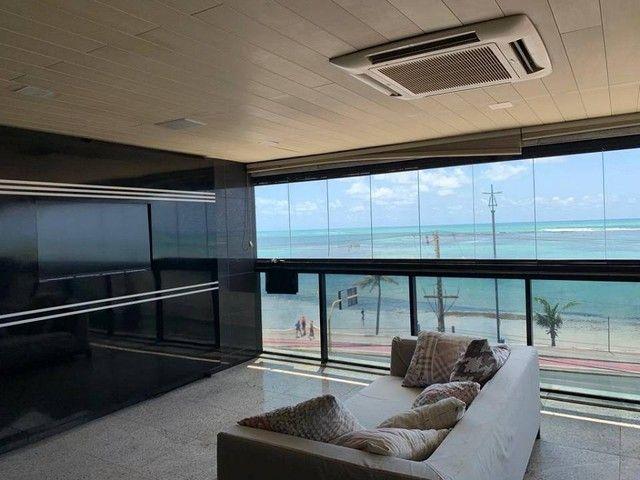 Apartamento para venda possui 349m² com 4 suítes na Orla da Ponta Verde - Maceió - AL - Foto 4