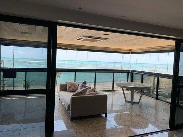 Apartamento para venda possui 349m² com 4 suítes na Orla da Ponta Verde - Maceió - AL - Foto 5