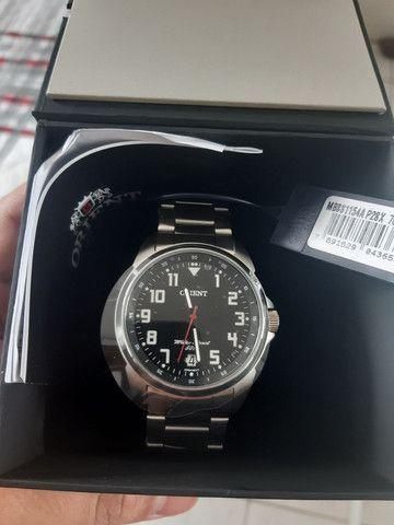 Vendo relógio orient novo - 400 reais !! - Foto 2