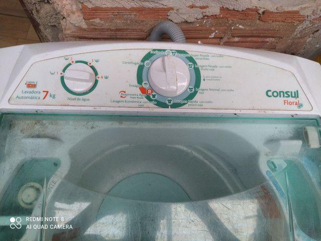 Máquina de lavar Consul floral 7 kl