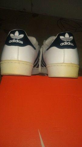 Tênis Adidas superstar original. - Foto 6