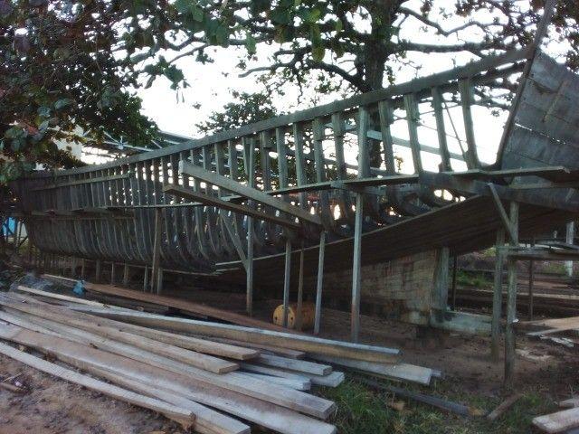 Vendo Barco em construção de 25m² em Itaipava - ES - Foto 4