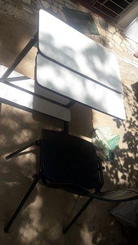 Mesa com cadeira - Foto 4