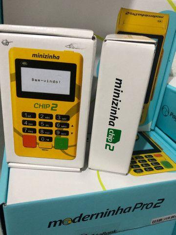 Maquineta maquininha de cartão com configuração e entrega imediata grátis  - Foto 5