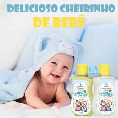 Colônia Infantil mais Shampoo e Condicionador Natubelly - Foto 5
