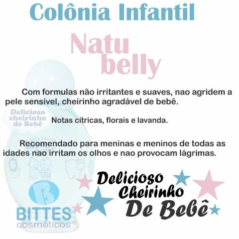 Colônia Infantil mais Shampoo e Condicionador Natubelly - Foto 2
