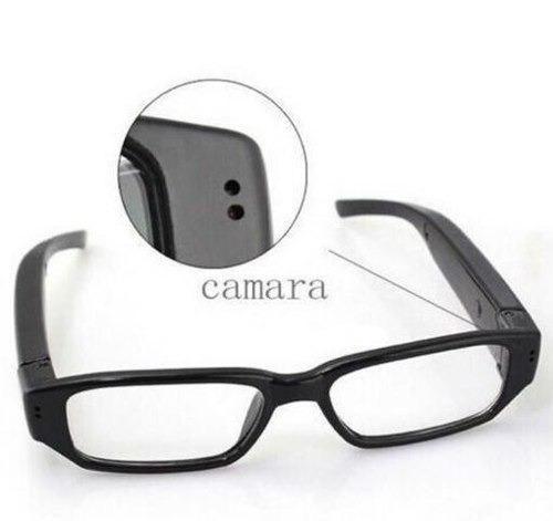 36ca640d3 Óculos Espião Com Câmera Escondida Hd - Tira Foto E Filma - Áudio ...