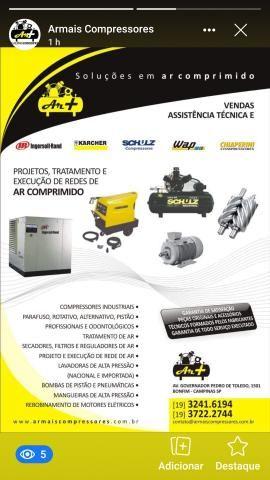 Armais compressores e lavadoras