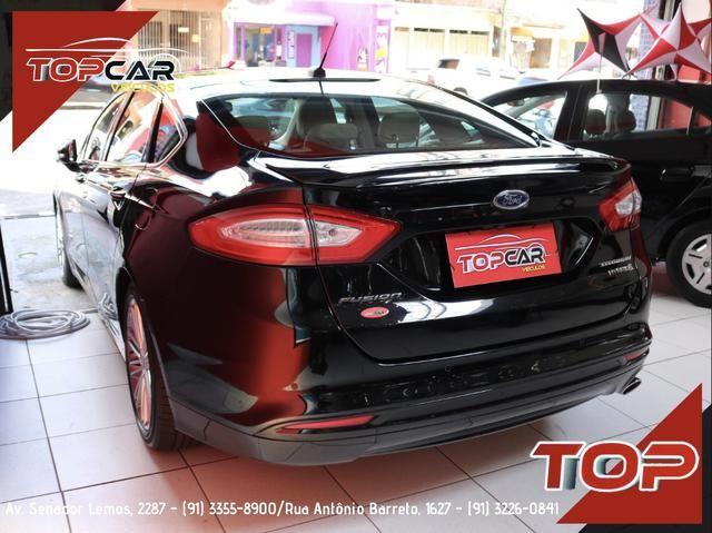 Ford Fusion Titanium Hybrid 2.0 15/16 é na Top Car! - Foto 6