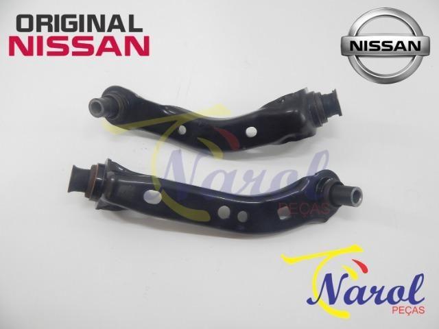 Braço Suporte Suspensão Nissan March, Versa, Tiida, Livina, Sentra, Kicks - Foto 6