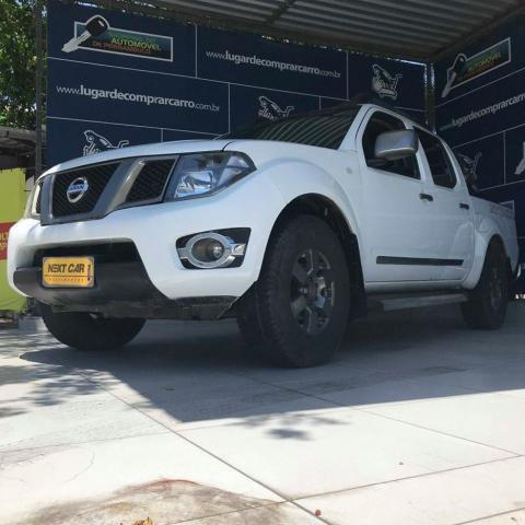 NISSAN FRONTIER 2013/2014 2.5 SV ATTACK 4X4 CD TURBO ELETRONIC DIESEL 4P MANUAL - Foto 2