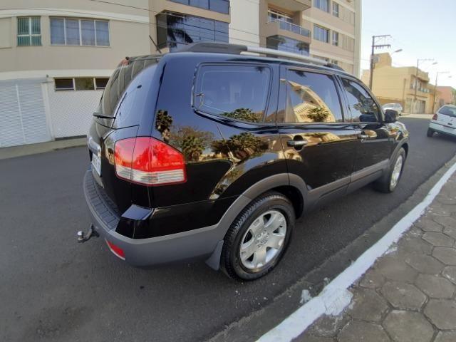 Kia mohave 3.0 v6 diesel 2011 preta - Foto 6