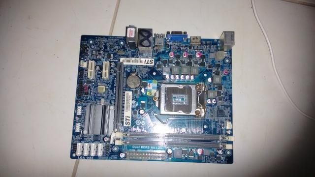 Placa Mãe Semp Toshiba Pci E Gen 2 Lga 1155 Ddr3