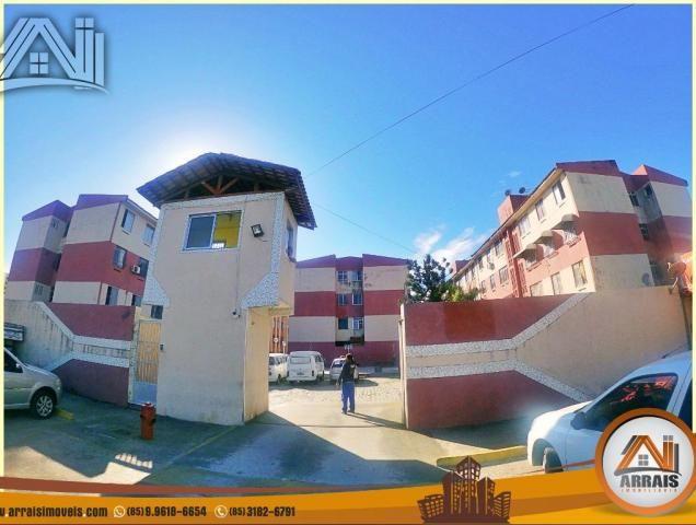Apartamento com 2 quartos, 58m² na maraponga - Foto 4