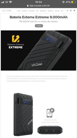 Bateria externa extreme 9.000mAh