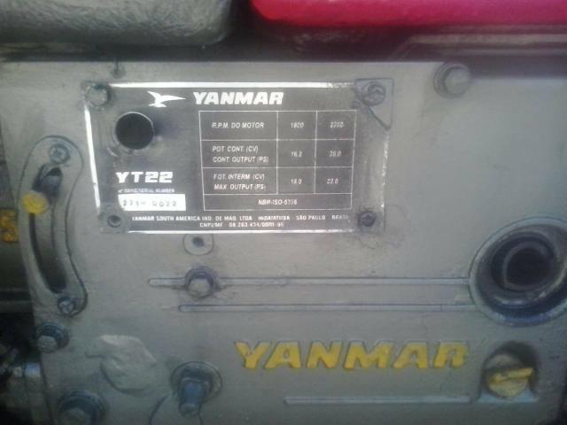 Motor Yanmar YT 22 - Foto 2