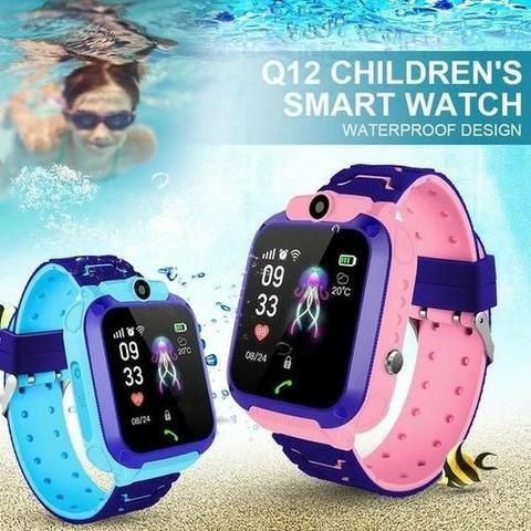 Os.Melhores.Preços-Q12 Crianças Relógio Inteligente Ip67 À Prova Dágua - Foto 2