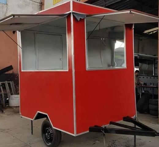 Food trailer reboques geral Nota pra emplacamento