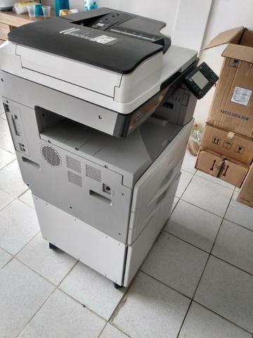 Copiadora e Impressora A3 Ricoh Aficio MP 2501sp Preto e Branco - Foto 3