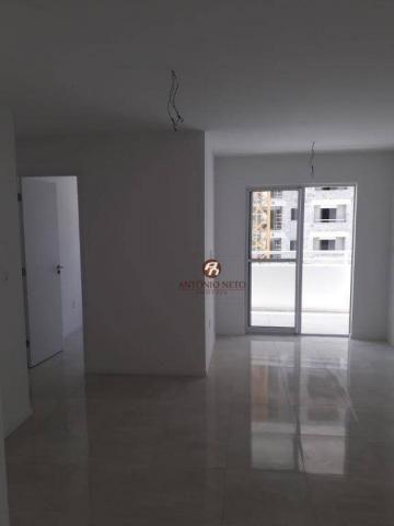Apartamento NOVO com 3 dormitórios para alugar, 65 m² por R$ 1.150/mês - Messejana - Forta - Foto 18