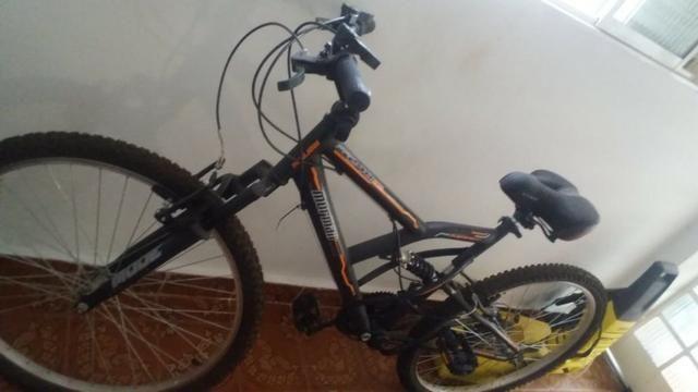 Bicicleta Mormaii Aro 26 full FA 240 Suspension 18 marchas - Foto 2