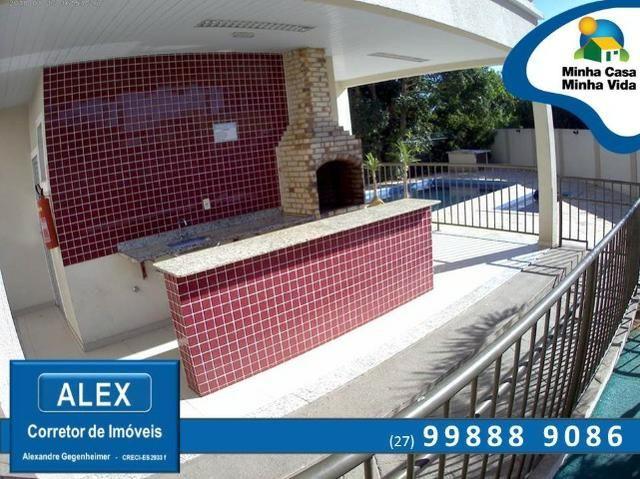 ALX - 45 - Apartamento com Subsídio de até R$ 23.200,00 e F.G.T.S como Entrada ? 2 Quartos - Foto 10