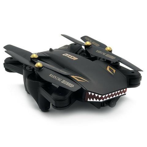 Drone Visuo XS809S com Wifi câmera 720p HD Black - Foto 5
