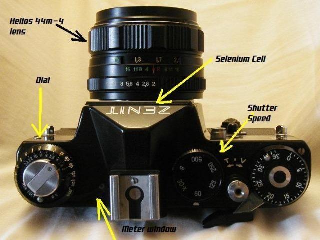 Câmera Fotográfica Zenit 11 (Raridade, ano 1964)