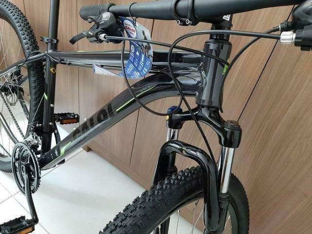 Bicicleta Caloi 29 Suspensão c/Trava Freio a Disco (Lacrada) Nota Fiscal